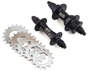 ACS Maindrive Cassette Hubs (Black) (3/8) (28H) | product-related