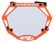 Answer 3D BMX Number Plate (Orange) | product-also-purchased