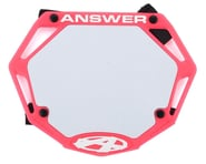 Answer 3D BMX Number Plate (Pink) | product-also-purchased