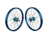 """Black Ops DW1.1 20"""" Wheel Set (Blue/Silver/Blue) (3/8"""" Axle) 