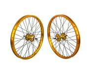 """Black Ops DW1.1 20"""" Wheel Set (Gold/Black/Gold) (3/8"""" Axle) 