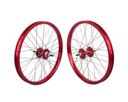 """Black Ops DW1.1 20"""" Wheel Set (Red/Silver/Red) (3/8"""" Axle) 