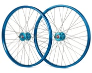"Black Ops DW1.1 24"" Wheels (Blue/Silver/Blue) 
