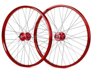 """Black Ops DW1.1 24"""" Wheels (Red/Silver/Red) 