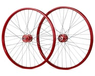 """Black Ops DW1.1 26"""" Wheels (Red/Silver/Red) 