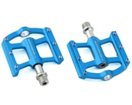 """Bombshell Mini Pump Pedals (Blue) (9/16"""") (Pair) 
