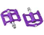 """Bombshell Mini Pump Pedals (Purple) (9/16"""") (Pair) 