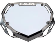 Box Phase 1 Number Plate (Black/Chrome) | product-related