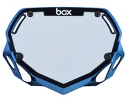 Box Two Number Plate (Blue Chrome) (S)   product-also-purchased