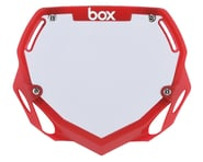 Box Two Number Plate (Translucent Red) (L) | product-also-purchased