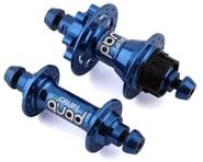 Crupi Quad Disc Brake Hubset (Blue) (28H) | product-related