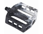Demolition Trooper Plastic Pedals (Black/White Swirl) (Pair) | product-related