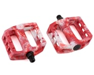 Demolition Trooper Plastic Pedals (White/Red Swirl) (Pair) | product-also-purchased