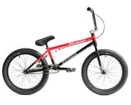 """Division Brookside 20"""" BMX Bike (20.5"""" Toptube) (Black/Red Fade) 