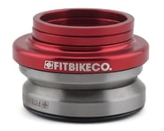 """Fit Bike Co Integrated Headset (Blood Red) (1-1/8"""") 
