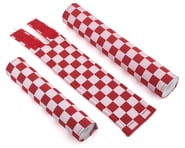 Flite Checkerboard BMX Padset (Red/White) | product-also-purchased