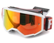 Fly Racing Zone Goggle (White/Red) (Red Mirror Brown Lens) | product-related