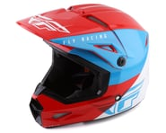 Fly Racing Kinetic K120 Youth Helmet (Blue/White/Red) | product-related