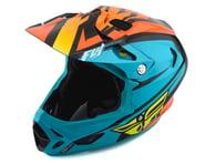 Fly Racing Werx Rival MIPS Helmet (Teal/Orange/Black) | product-related