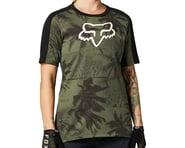 Fox Racing Women's Ranger DriRelease Short Sleeve Jersey (Olive Green) | product-related