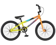 """GT 2021 Friend Ship BMX Bike (Gloss Yellow/Orange Fade) (18.5"""" Toptube) 