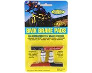 Kool Stop BMX Brake Pads (Threaded) (Black/Salmon) (Pair) | product-related
