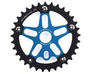 MCS Alloy Spider & Chainring Combo (Blue/Black) | product-related