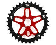 MCS Alloy Spider & Chainring Combo (Red/Black) | product-related