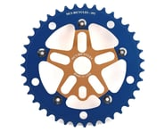 MCS Alloy Spider & Chainring Combo (Gold/Blue) | product-related