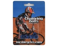 MCS Alloy Chainring Bolts (Blue) | product-related