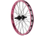 Rant Party On V2 Cassette Rear Wheel (Pepto Pink) (Left Hand Drive) | product-related