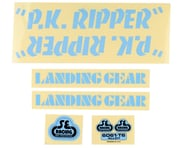 SE Racing PK Ripper Decal Set (Blue) | product-related