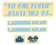 SE Racing So Cal Flyer Decal Set (Blue) | product-also-purchased