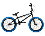 "Stolen 2021 Agent 18"" BMX Bike (18"" Toptube) (Black/Dark Blue) 