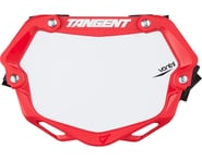 Tangent Mini Ventril 3D Number Plate (Red/White) | product-also-purchased
