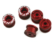 Tangent Alloy Chainring Bolts (4mm) (Red) | product-also-purchased
