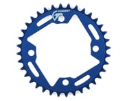 Tangent Halo 4-Bolt Chainring (Blue) | product-related