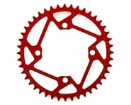 Tangent Halo 4-Bolt Chainring (Red) (44T) | product-also-purchased