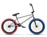 """We The People 2021 Battleship BMX Bike (20.75"""" Toptube) (Glossy Raw) 