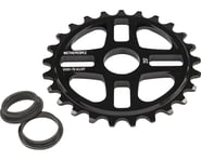We The People 4Star Sprocket 28t Black 23.8mm Spindle Hole With Adaptors for 19m   product-related