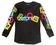 Zeronine Youth Mesh BMX Racing Jersey (Black) | product-related
