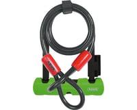 """Abus Keyed U-Lock Ultra Mini 410 Plus Cobra Cable (Black) (5.5"""" Shackle)"""