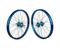 """Black Ops DW1.1 20"""" Wheel Set (Blue/Silver/Blue) (3/8"""" Axle)"""