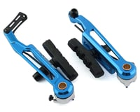 Bombshell Brake Arms with Pads (Blue) (108mm)