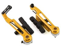 Bombshell Brake Arms with Pads (Gold) (108mm)