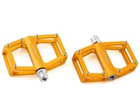 """Bombshell Micro Pump Pedals (Gold) (9/16"""") (Pair)"""