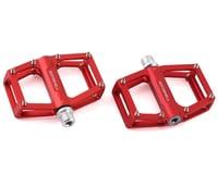 """Bombshell Micro Pump Pedals (Red) (9/16"""") (Pair)"""