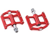 """Bombshell Mini Pump Pedals (Red) (9/16"""") (Pair)"""