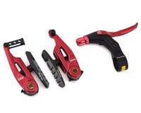 Box Brake Caliper Box Three V W/Lever (Red)