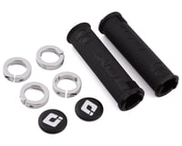 Box One Lock-On Grips (Black/Silver)